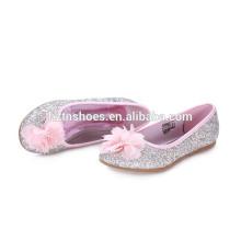 Gilrs reizender glänzender diamon PU-Blumendekriptionskleid fashionest Schuh