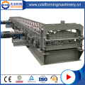 Kilang GI Galvanized Deck Floor Rolling forming Machine