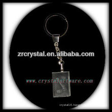 laser etched crystal keychain and blank crystal G058