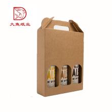 Fabriqué en Chine pas cher prix en gros 3 bouteilles de vin boîte-cadeau