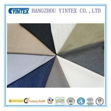 Tissu de polyester et coton mélangés doux de bonne qualité