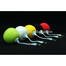 Mini altavoz móvil esponja bola, altavoces para teléfono móvil
