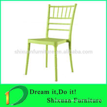 Outdoor plastic garden bamboo chair