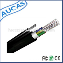 144 Core Aerial GYFTY Loose Tube single mode optical cable/GYXTW outdoor fiber optic cable
