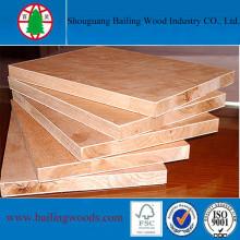 18mm Paulownia Core Commercial Blockboard