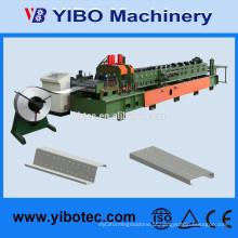 YIBO Máquinas 2015 Novo Design Semi-automática CZ Purlin Roll formando máquina para material de construção de aço da estrutura