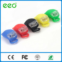 New design Bicycle Tadpole Shape Rear & Front Silicone bike head light