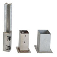 Power Coated Stake, Pole Plate