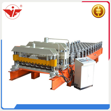 Eur style glazed roof tile roll forming machine