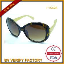 Échantillon gratuit Sunglasses Chine usine (F15478)