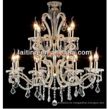 2018 Classical Crystal Chandelier Light con E12 Candle Bulb