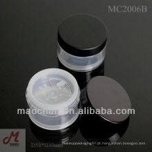 MC2006A torneira peneira em pó mineral pote