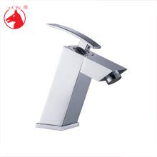 Single handle brass shampoo basin tap
