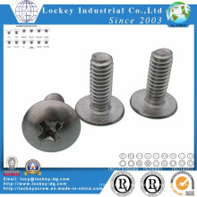 Ss 304 Truss Head Phillips Machine Screw