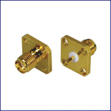 Straight SMA female connector Panel mount type