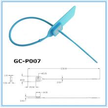 Comércio Garantia ajustável do selo plástico GC-P007