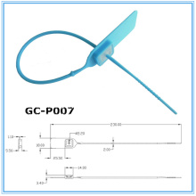 Регулируемой торговли гарантии печать пластиковых GC-P007