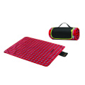 new picnic blanket with logo, camping blanket polyester fabric