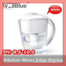 Hot Sale Plastic Water Jug with Alkaline Filter Replacement (High pH: 8.5-10.0)