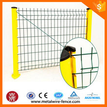 La alta calidad soldó el panel de la cerca del acoplamiento de alambre del sistema de la cerca 3D (fábrica directa)