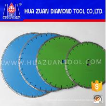 Lames de scies diamantées soudées au laser de conception spéciale pour la construction