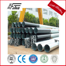 12M Single Arm Type steel light pole Galvanized