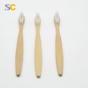 Hot Selling Bamboo Flat Handle Toothbrush