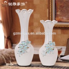 Lembranças de casamento de alta qualidade decoração de casa flor cerâmica flor de flor em flor com flor