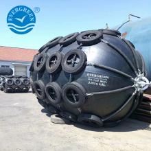 Best price Marine pneumatic floating fender for barrier along side ship