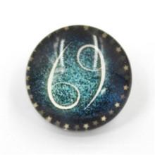 Bouton à bout rond pour les jeans à la mode, bouton en métal, bouton en résine