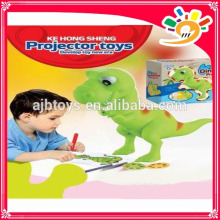 2014 HOT SELLING PRODUCTS! DINOSAUR 2-IN-1 PROJECTOR KE HONG SHENG 6618 projector toys painting best gift for kids