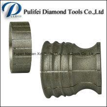 Marmor-Kantenschleifmaschine galvanisierte Profil-Räder Stein-Form