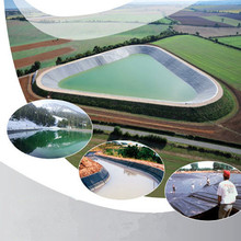HDPE Smooth Geomembrane Pond liner