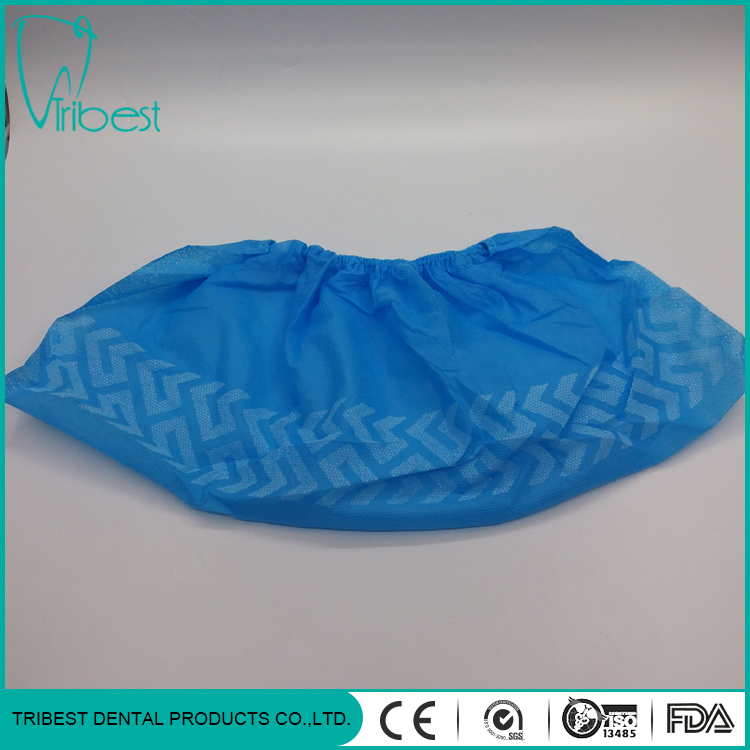 Disposable Elastic Medical Consumable Non-woven Shoe Cover