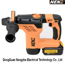 Rotary Hammer Drill Cordless Power Tool with Li-ion Battery (NZ80)