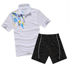 En son tasarım Badminton spor giyim erkek Badminton özel Badminton Jersey için forma tasarımları