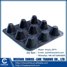 construction material high density polyethylene dimple drainage board