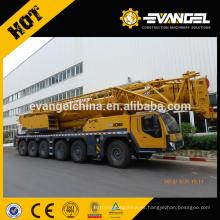 Famoso QY50K camión grúa 50 ton nudillo camión grúa montada