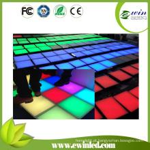 Assoalho de dança do diodo emissor de luz do RGB para a porta do in / out do entretenimento (IP65-IP68)