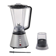 2 in 1 Silver Fruit Blender with Grinder (KD-326B)