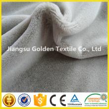 custom super soft velvet fabric/velboa print fabric plush blanket fabric/ micro velvet fabric