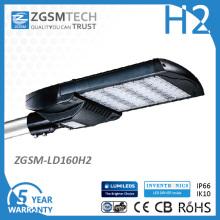 Lumières de route de 277VAC 160W LED avec 17600lm