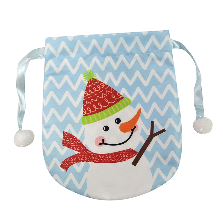 Portable Christmas Snowman Gift Bag
