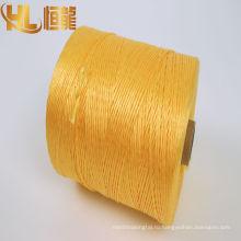 швейные нитки/fibrillated трава пряжи PP/х плетеный веревка производитель