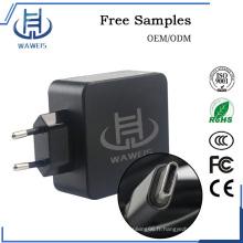 Adaptateur de chargeur USB Type-C 45w pour smartphone