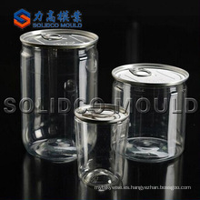 Fabricante de molde de preformas de tarro de inyección de plástico personalizado OEM