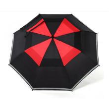 Personilized Business Umbrellas Silk Screen Umbrella Golf Reflector Hotel Umbrella