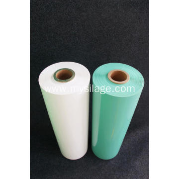 Green silage wrap film with 100% virgin LLDPE