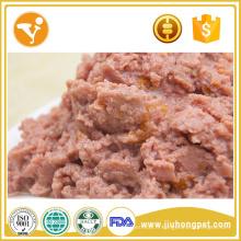 Pas d'additif 100% naturel de boeuf et légumes conserves de nourriture pour chien