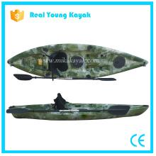 Sentarse en el barco de plástico superior Canoa de pesca de mar China Kayak
